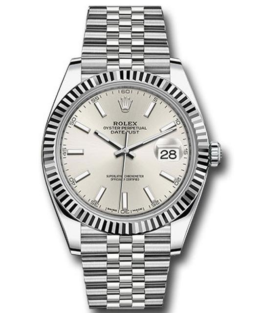 Rolex Datejust II White Gold Bezel