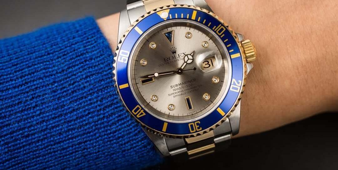 Mavi ve Yeşil Modasına Uygun Rolex Saat Modelleri