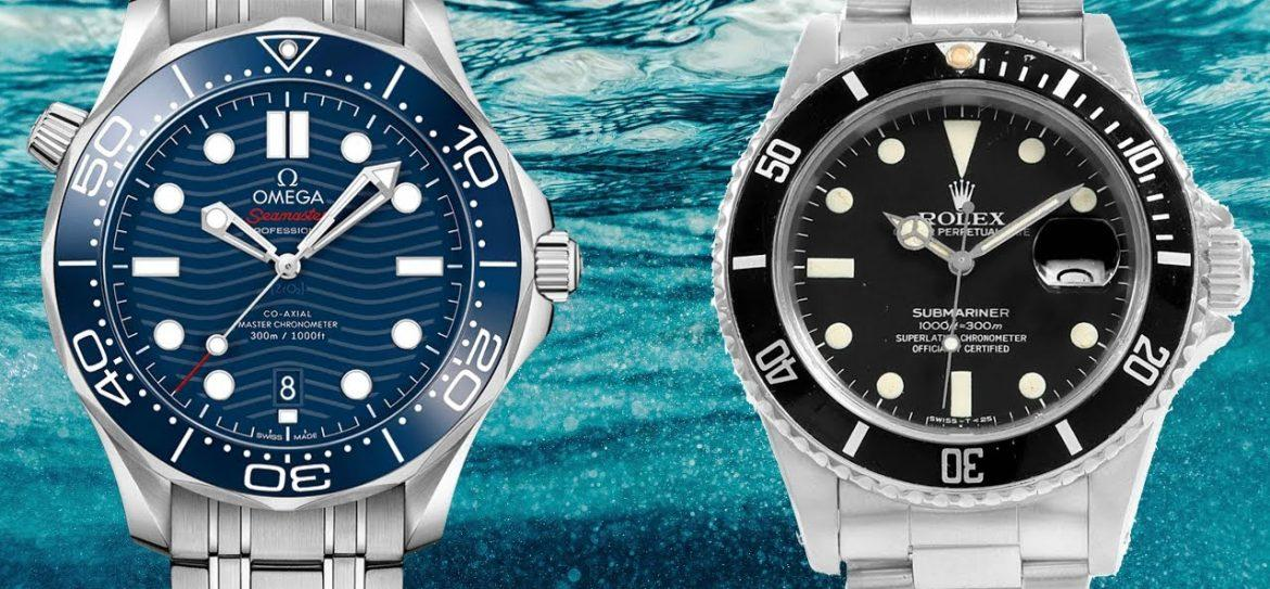 Omega Seamaster vs Rolex Submariner