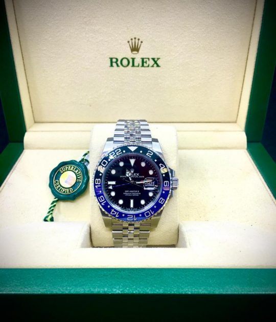 ROLEX GMT-MASTER II - BATMAN - NEW - B&P