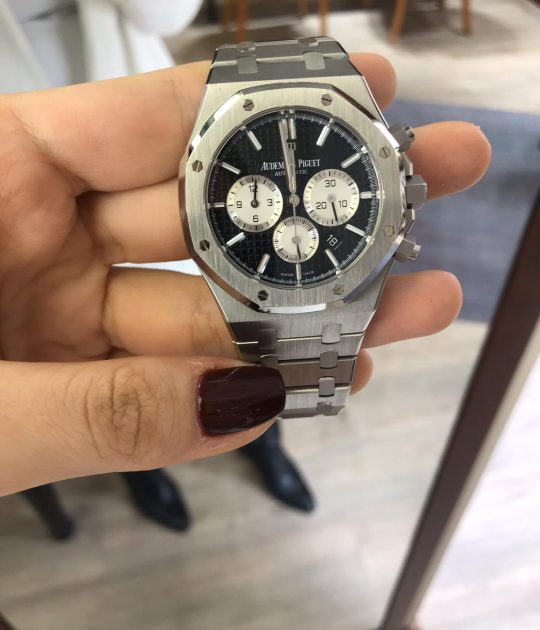 Audemars Piguet Royal Oak Chronograph Black Dial