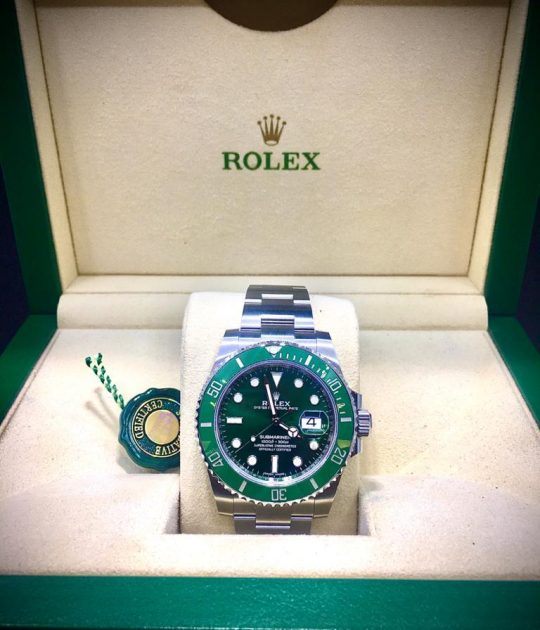 ROLEX - SUBMARINER - HULK - NEW - B&P