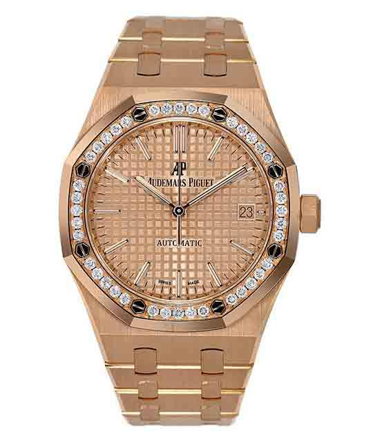 Audemars Piguet Royal Oak Lady 37 mm Rose Gold
