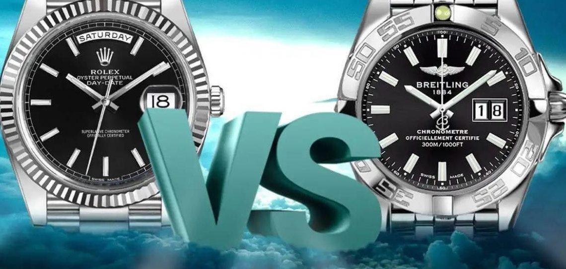 Rolex vs Breitling: Hangisi Daha İyi?