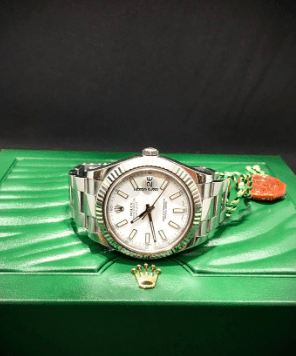 Rolex Datejust II 41 mm Steel White Dial 2013