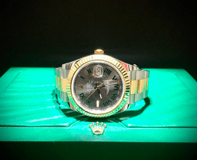 Rolex Datejust II Yellow Gold & Steel Wimbledon