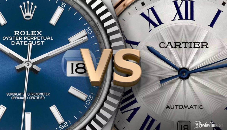 Rolex vs Cartier: Hangisi Daha İyi?
