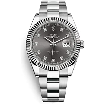 Rolex Datejust II RODIUM & DIAMOND