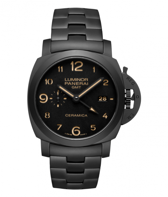 Panerai Pam 438 Tuttonero Luminor 1950 Gmt