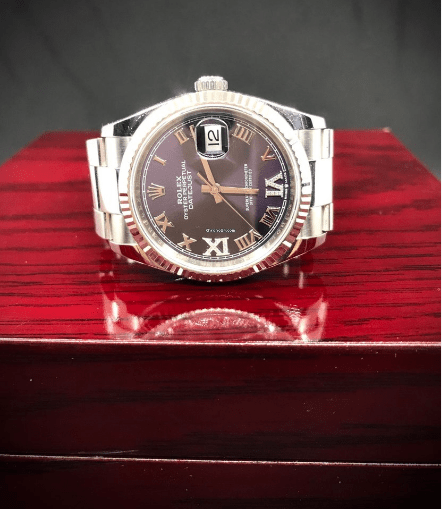 Rolex Datejust PURPLE DIAL & DIAMONDS