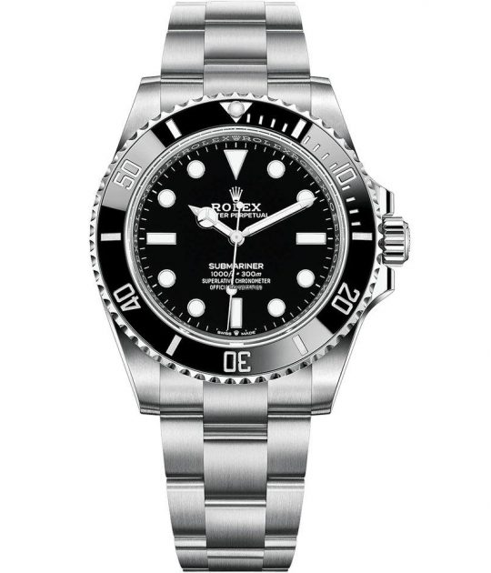 Rolex 2020 Automatic Chronometer Black Dial Men's Watch
